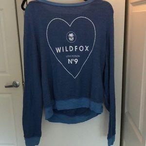 Wildfox Pajama Top